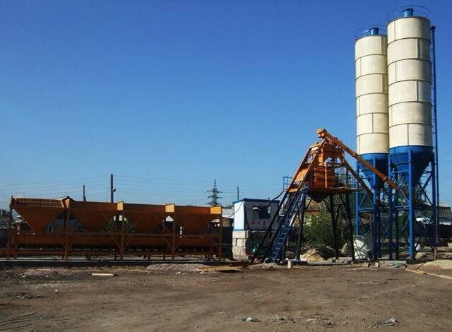 HZS25 Бетонный Завод