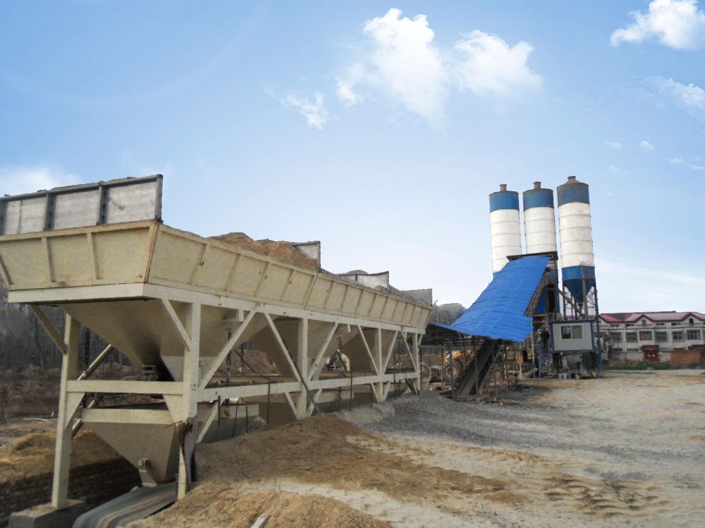Бетонный завод 60 кубометров в час