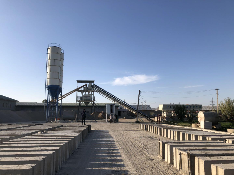 Бетонный завод в Джизаке
