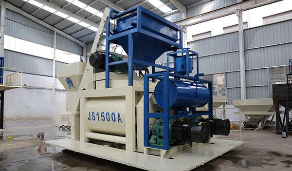 Двухвальный бетоносмеситель JS1500A
