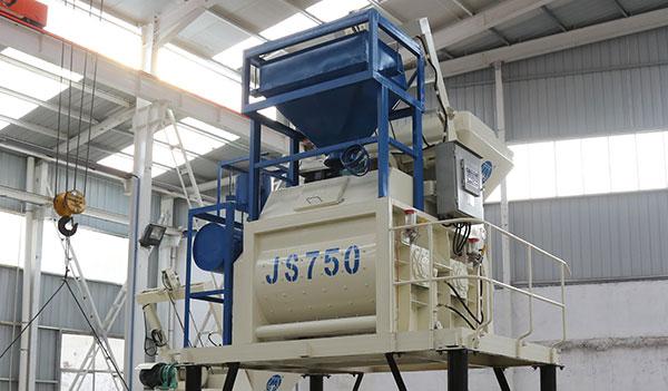 Двухвальный бетоносмеситель JS750