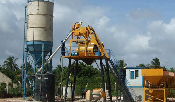 Малый бетонный завод 4