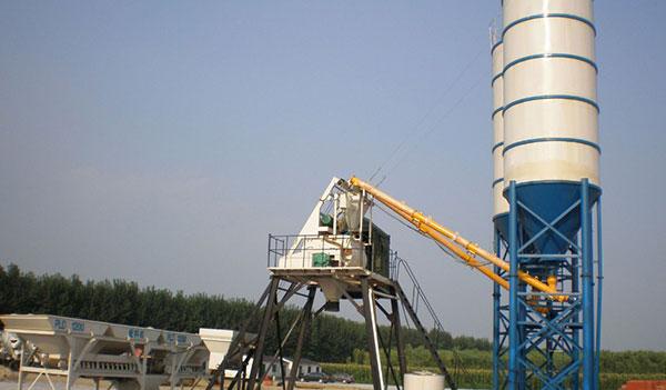 Малый бетонный завод 7